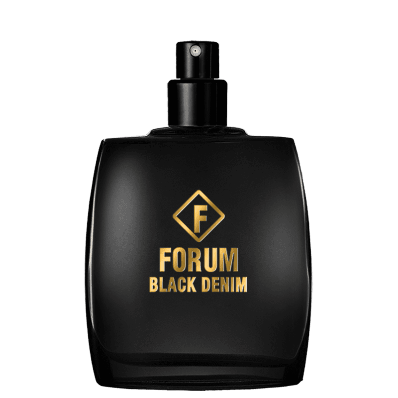 Black Denim Forum Deo Colônia - Perfume Unissex 50ml