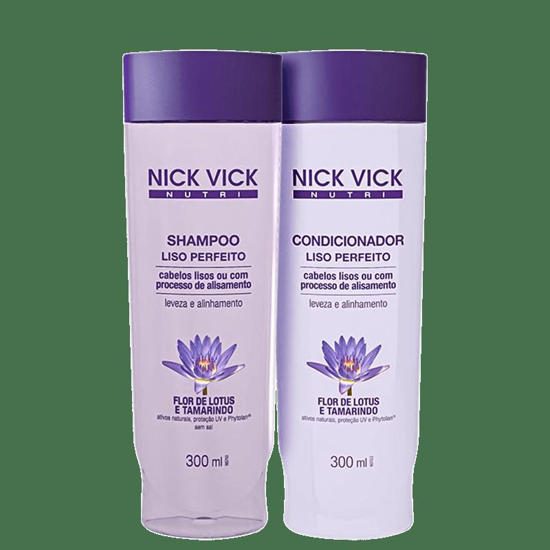 Kit Nick & Vick Liso Perfeito (2 produtos)
