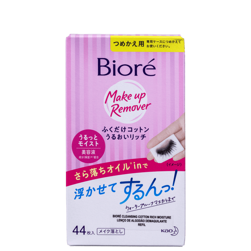 Bioré Make Up Remover Refil - Lenço Demaquilante (44 Unidades)