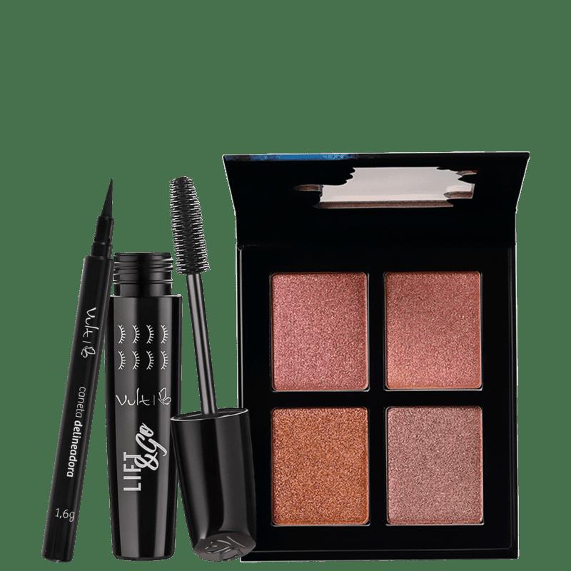 Kit Vult Make Olhos & Rosto (3 produtos)