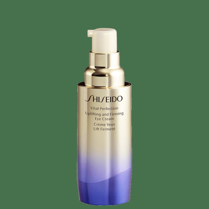 Creme Anti-Idade Shiseido Vital Perfection Uplifting and Firming Eye Cream para Área dos Olhos 15ml