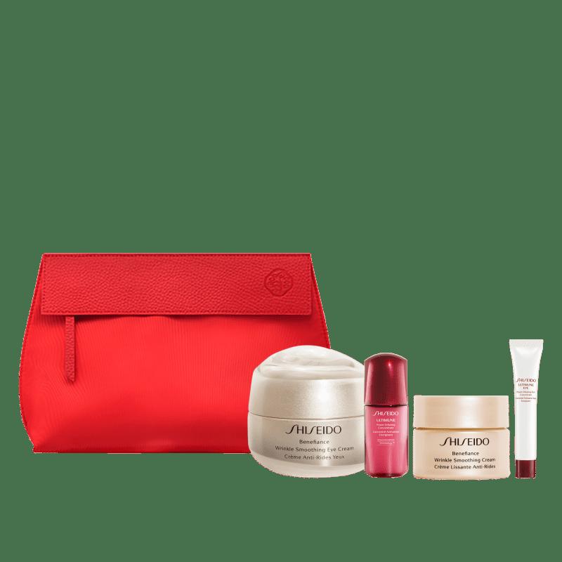 Kit Shiseido Benefiance Velvety Eye Delights (4 Produtos)