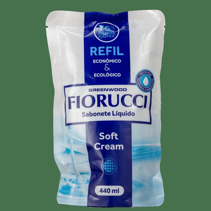 Fiorucci Soft Cream Refil - Sabonete Líquido 440ml