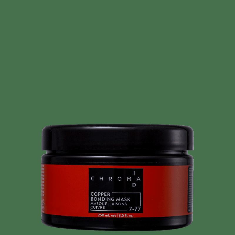 Schwarzkopf Professional Chroma ID Bonding Mask Copper 7-77 - Máscara Tonalizante 250ml