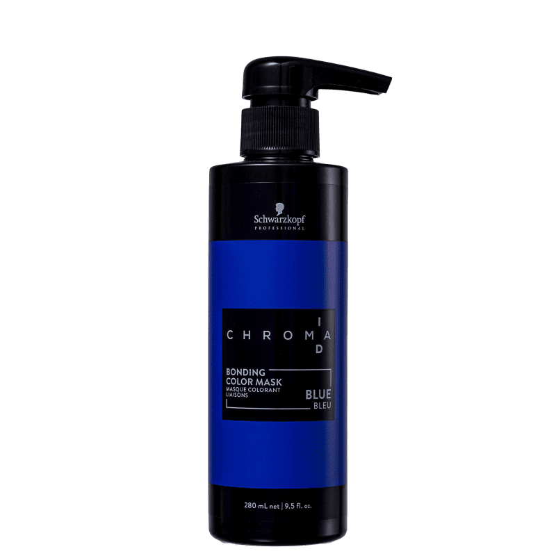 Schwarzkopf Professional Chroma ID Bonding Mask Intensa Blue - Máscara Tonalizante 280ml