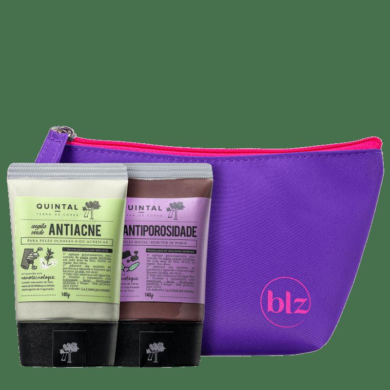 Kit Beleza na Web Quintal Argila Antiporosidade & Antiacne (3 Produtos)