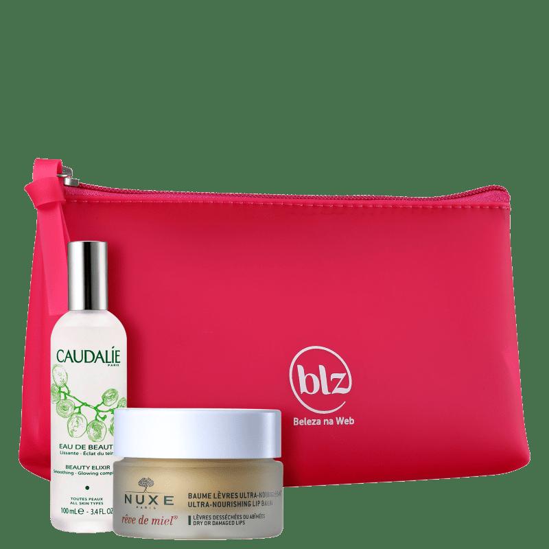 Kit Beleza na Web Caudalie + Nuxe French Beauty Secrets (3 Produtos)