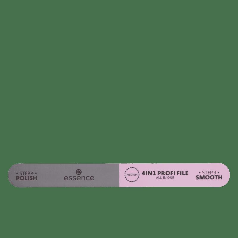 Essence 4 em 1 All in One Medium - Lixa de Unha