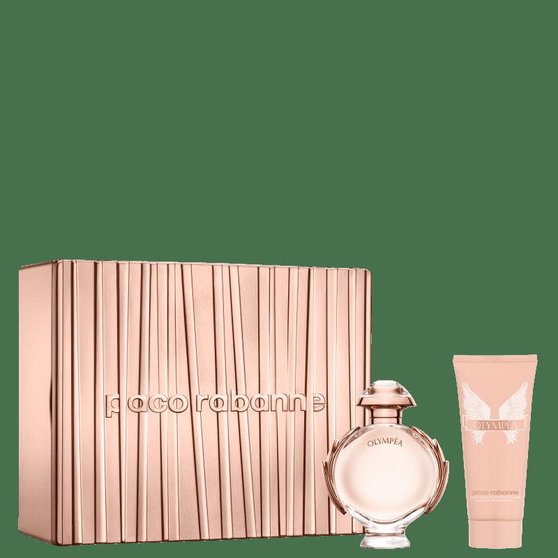 Conjunto Olympéa Paco Rabanne Feminino - Eau de Parfum 80ml + Hidratante Corporal 100ml