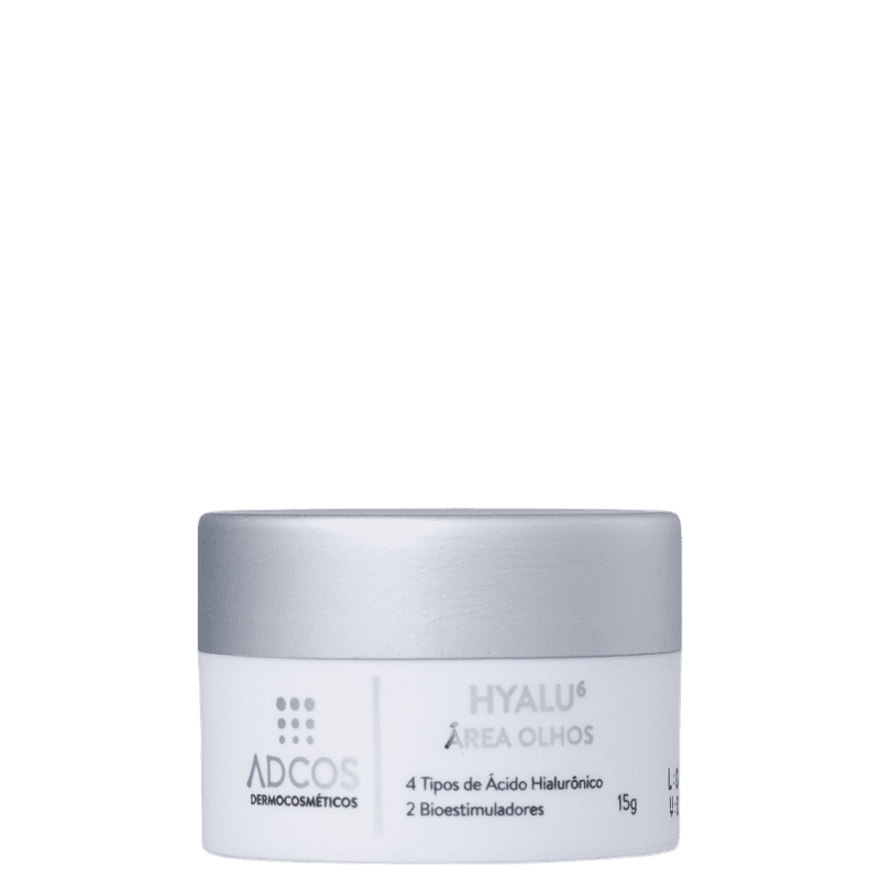 Adcos Hyalu 6 - Creme Anti-Idade para Área dos Olhos 15g