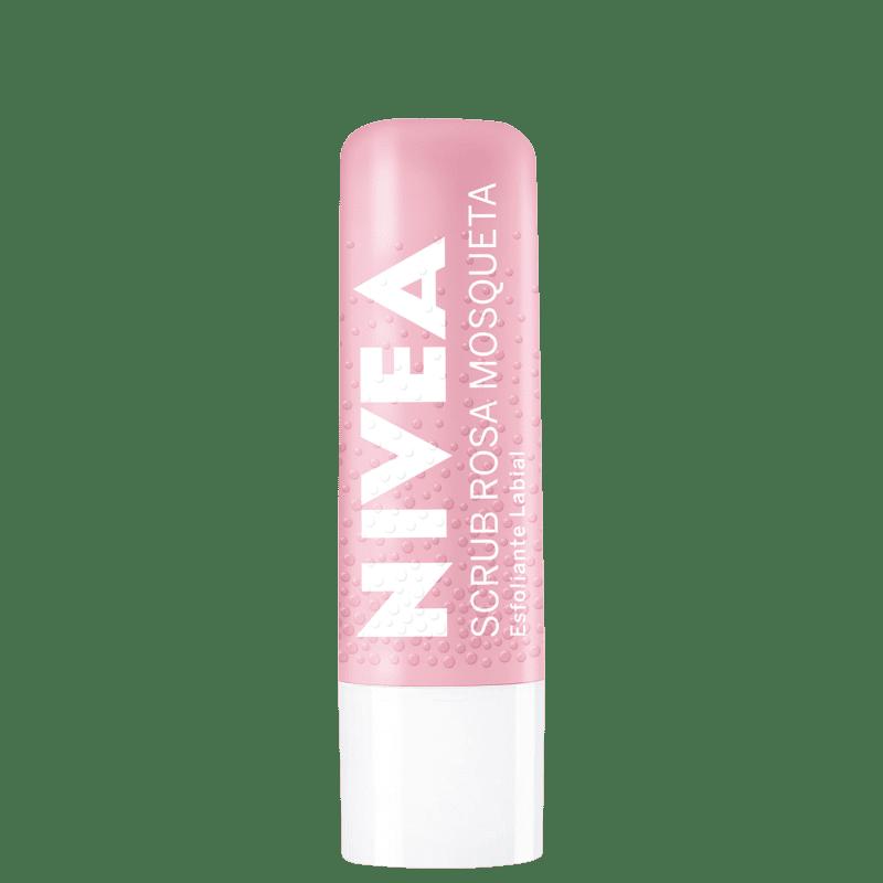NIVEA Scrub Rosa Mosqueta - Esfoliante Labial 4,8g