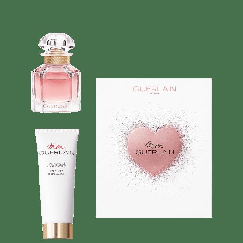 Conjunto Mon Guerlain Bloom of Rose Guerlain - Eau de Parfum 30ml + Loção Corporal 75ml