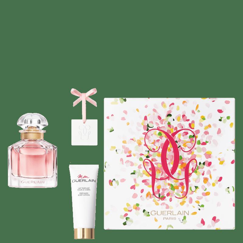 Conjunto Mon Guerlain Bloom of Rose Guerlain - Eau de Parfum 50ml + Loção Corporal 75ml