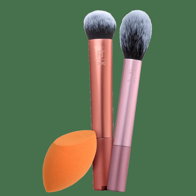Kit Real Techniques Esponja & Pincéis (3 produtos)
