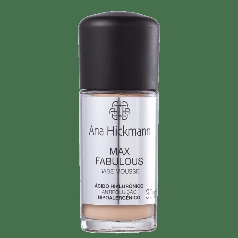 Ana Hickmann Beauty Max Fabulous 01 - Base Mousse 30ml