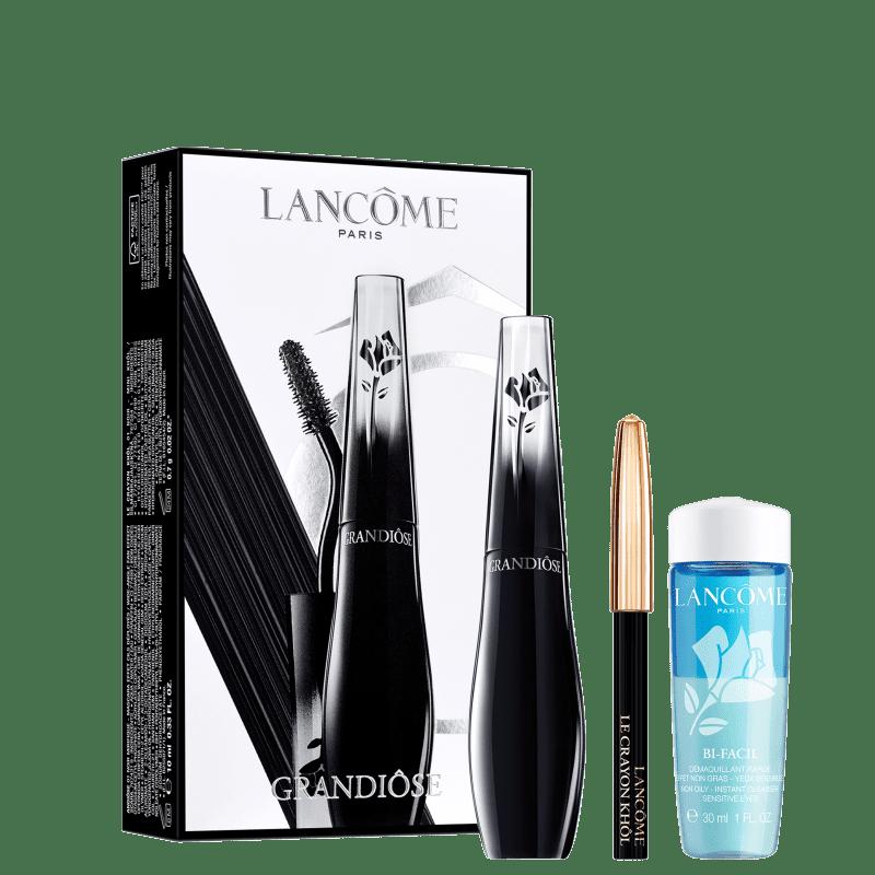 Kit Lancôme Grandiôse + Le Crayon Khôl Noir + Bi-Facil (3 Produtos)