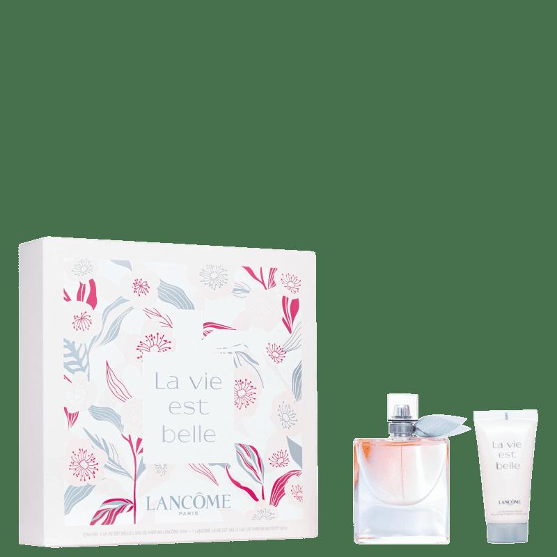Kit La Vie Est Belle Lancôme Feminino - Eau de Parfum 50ml + Body Lotion 50ml
