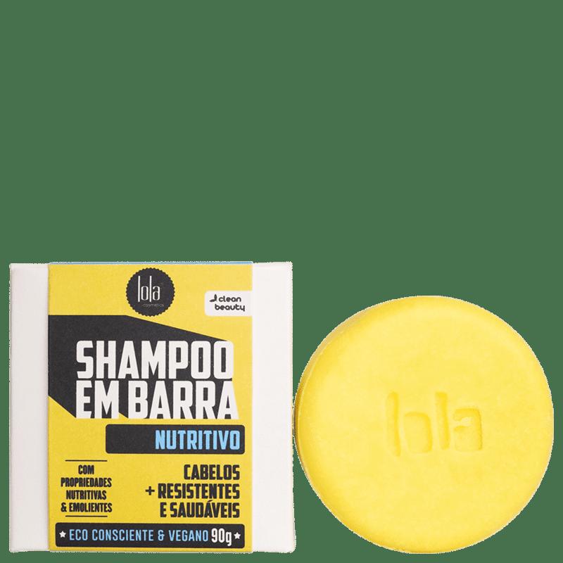 Lola Cosmetics Nutritivo - Shampoo em Barra 90g