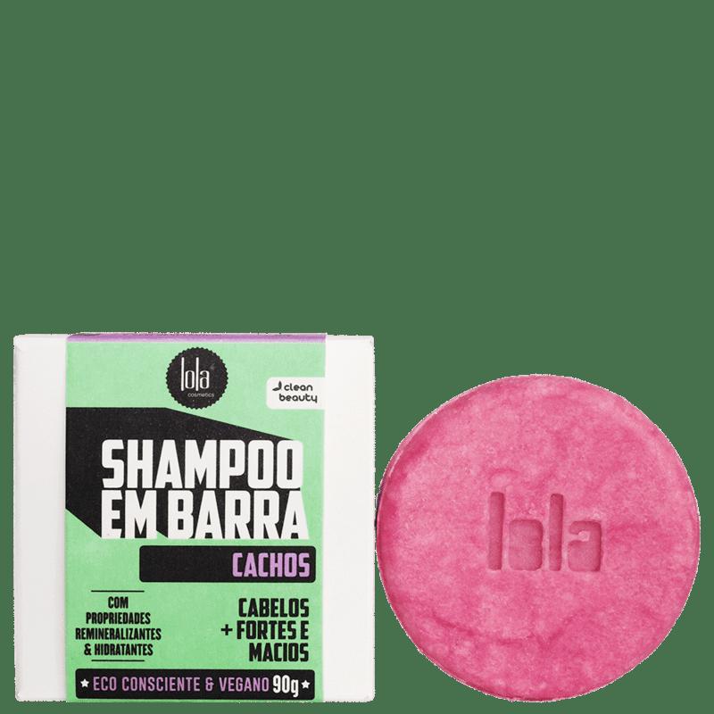 Lola Cosmetics Cachos - Shampoo em Barra 90g