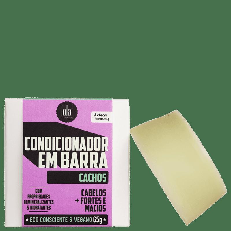 Lola Cosmetics Cachos - Condicionador em Barra 65g
