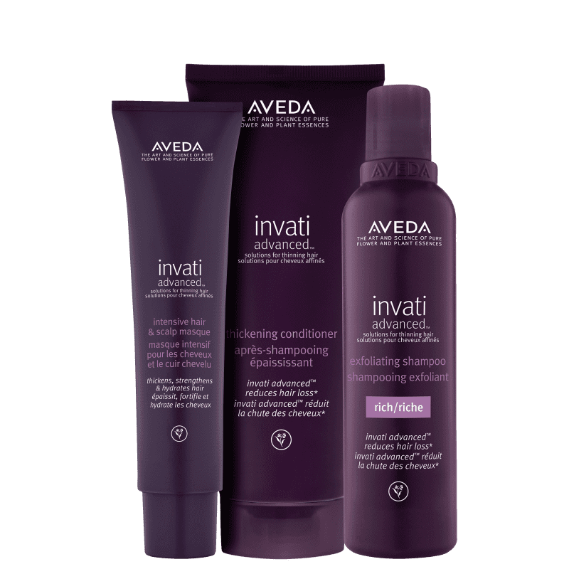 Kit Aveda Invati Advanced Triplo (3 Produtos)