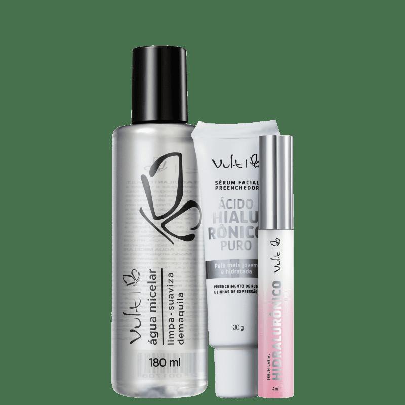 Kit Vult para Rosto e Boca (3 produtos)