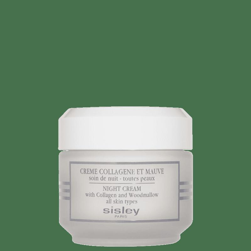 Sisley Night Cream With Collagen and Woodmallow - Creme Anti-Idade Facial 50ml