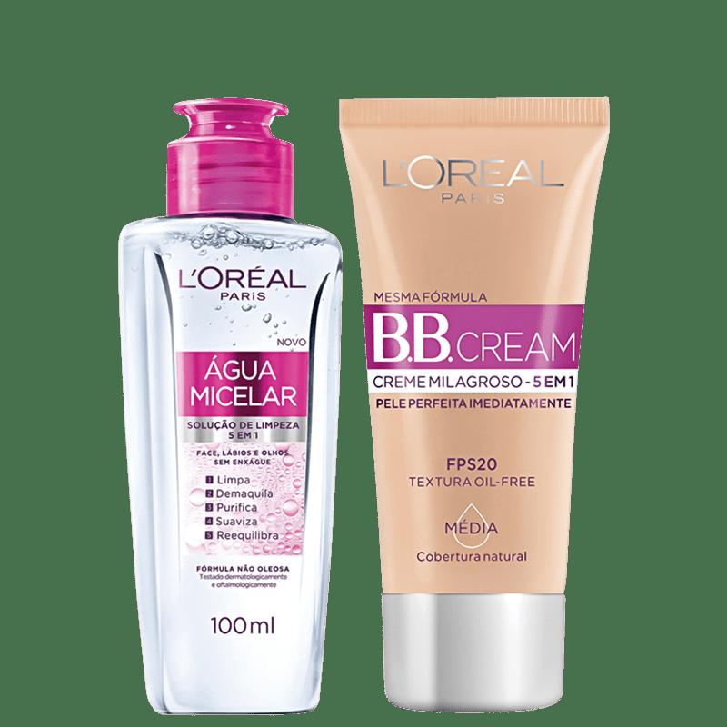 Kit L'Oréal Paris Pele Perfeita 5 em 1 (2 produtos)