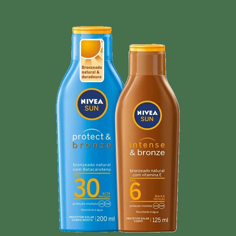 Kit NIVEA Bronze e Proteção (2 Produtos)