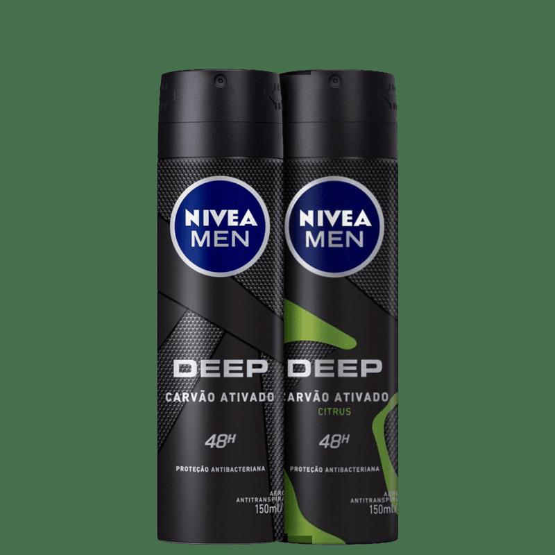 Kit NIVEA Men Desodorantes (2 Produtos)