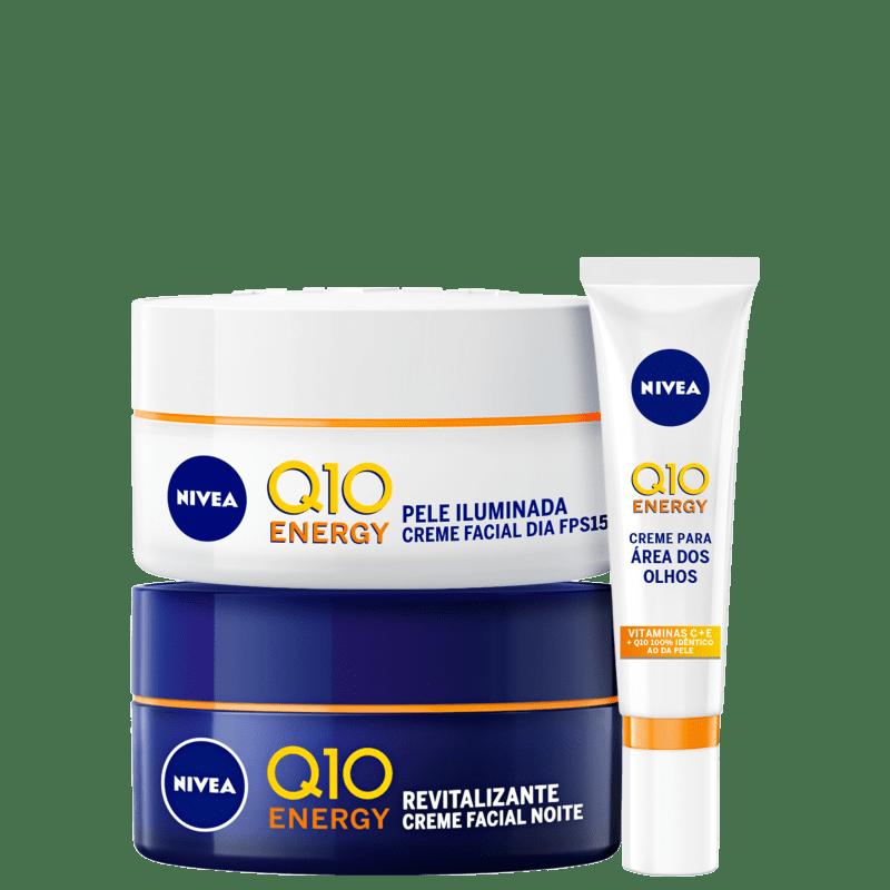 Kit NIVEA Q10 Anti-Idade (3 Produtos)