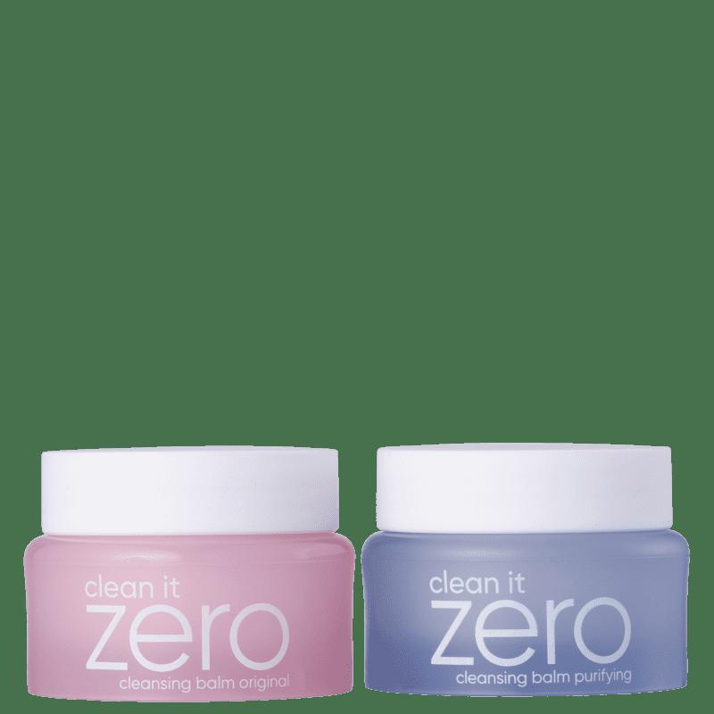 Kit Banila Co Clean it Zero Cleansing Balm Original + Purifying Mini (2 Produtos)