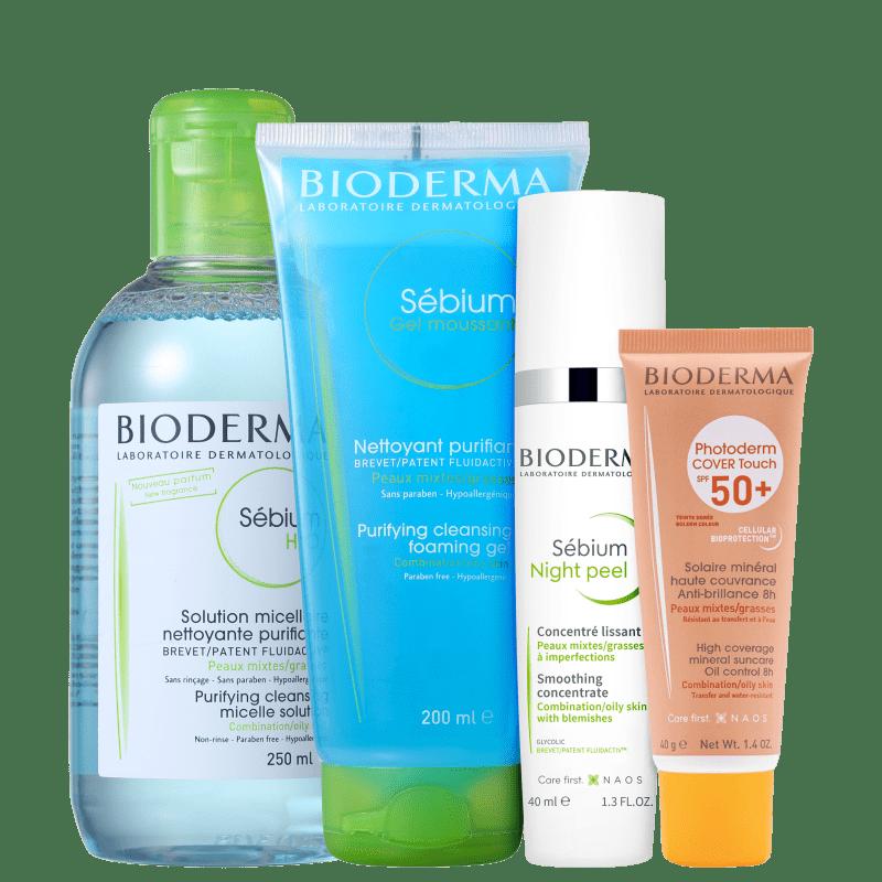 Kit Bioderma Perfect Skin (4 Produtos)