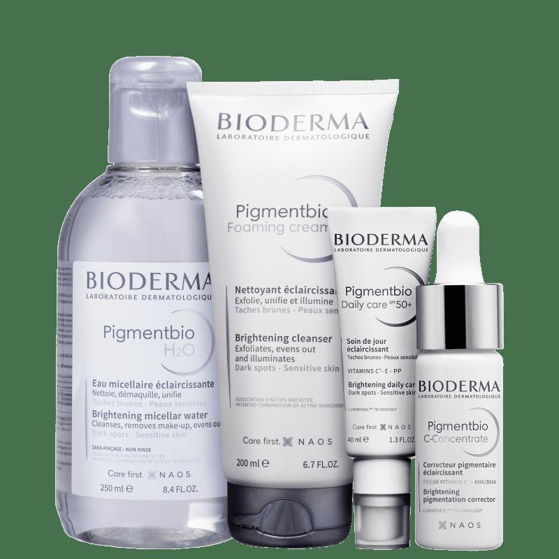 Kit Bioderma Pigmentbio Clareador (4 Produtos)