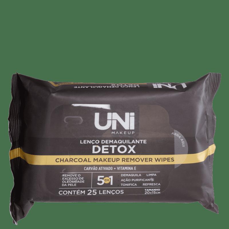 UNImakeup Detox - Lenço Demaquilante (25 Unidades)