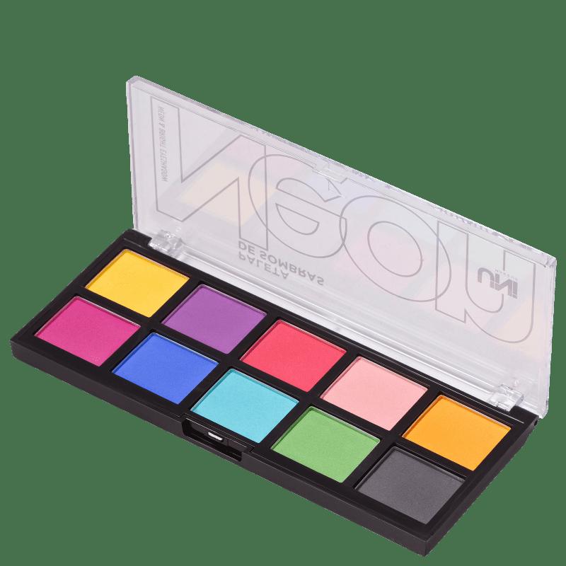 UNImakeup Neon & Bright - Paleta de Sombras 12g