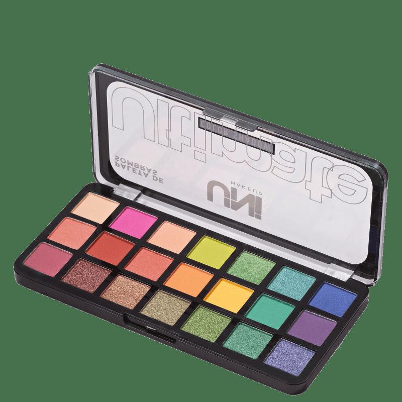 Paleta de Sombras UNImakeup Ultimate Color Shadow 25g