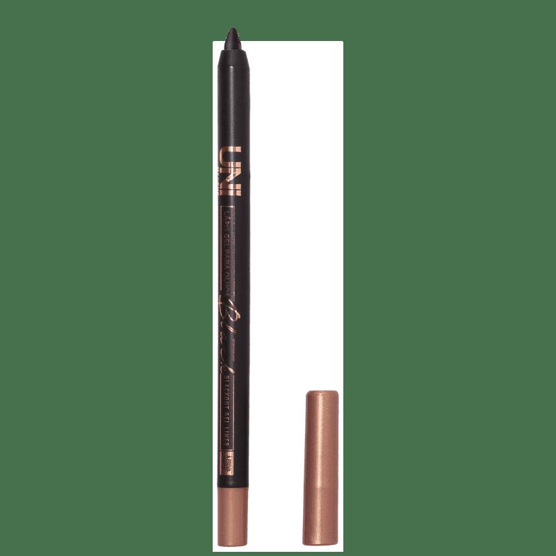 Lápis de Olho em Gel UNImakeup Blackout Gel Liner Preto 1,2g
