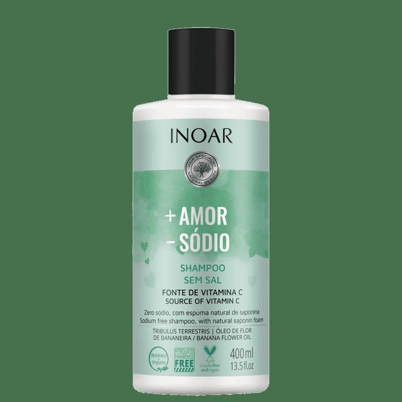 Inoar Mais Amor Menos Sódio – Shampoo 400ml