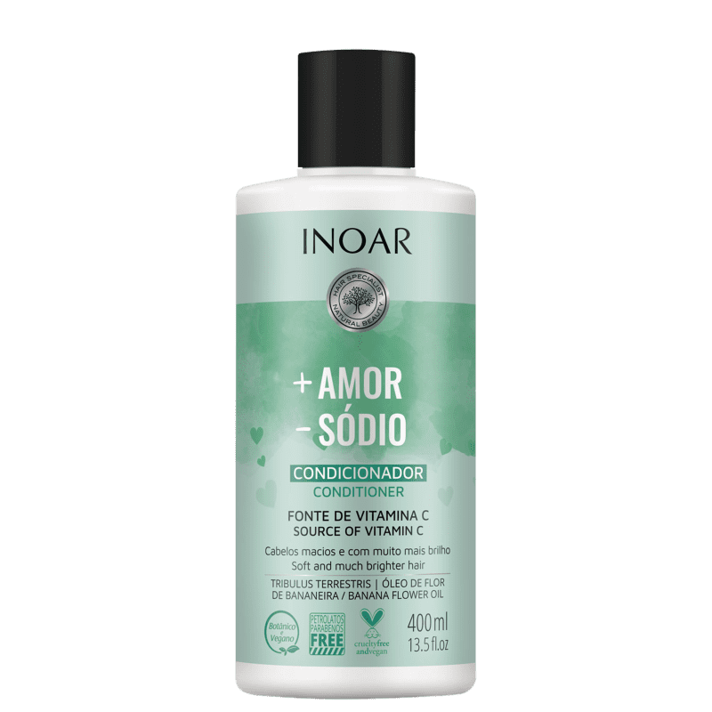 Inoar Mais Amor Menos Sódio – Condicionador 400ml