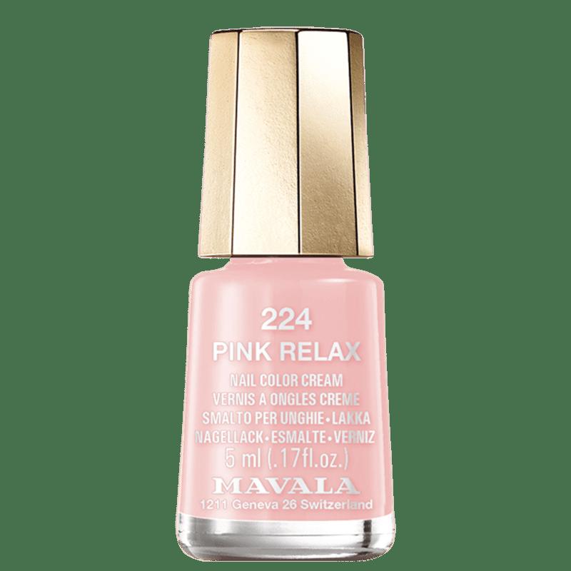 Mavala Mini Color Chill & Relax Color's 224 Pink Relax - Esmalte 5ml