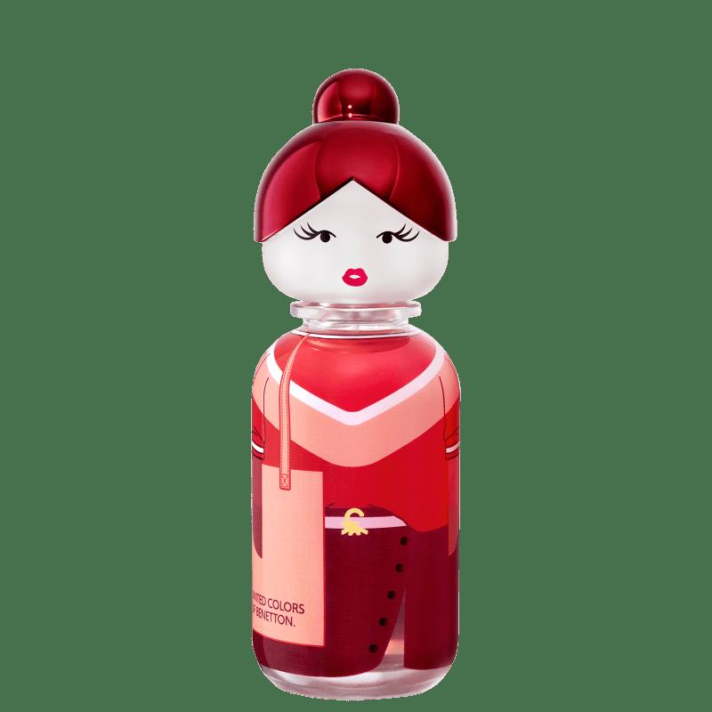 Conjunto Sisterland Red Rose Benetton Feminino - Eau de Toilette 80ml + Loção Corporal 75ml