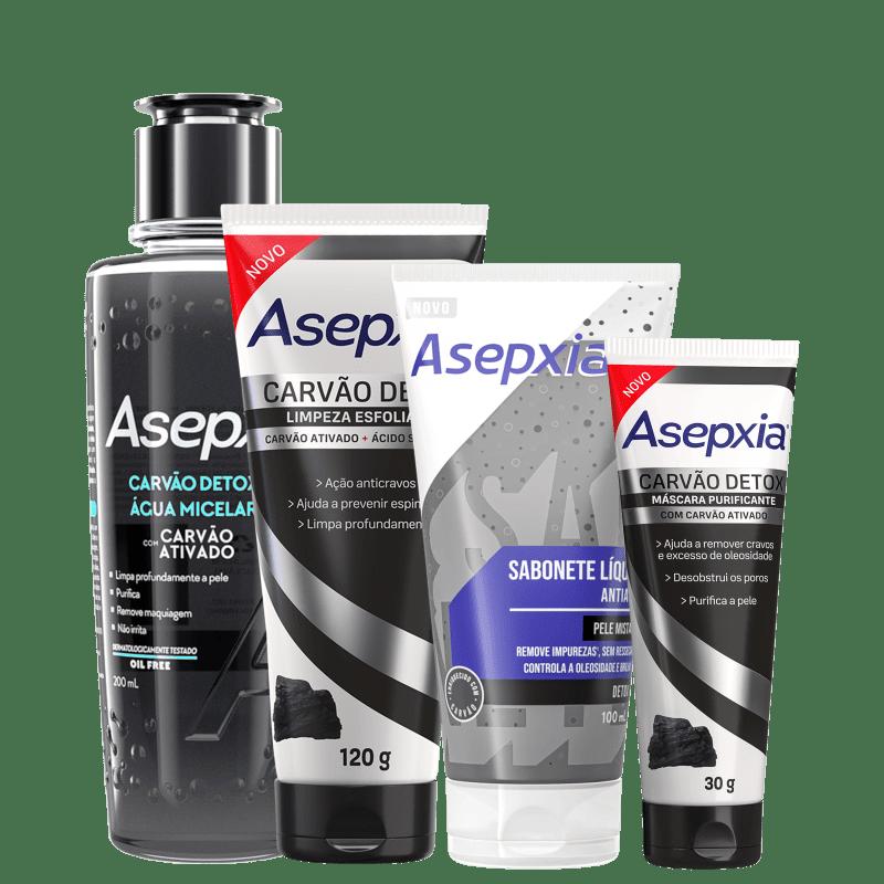 Kit Asepxia Antiacne (4 produtos)