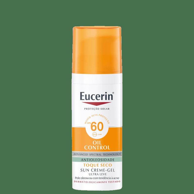 Eucerin Sun Oil Control Creme-Gel FPS 60 - Protetor Solar Facial 52g