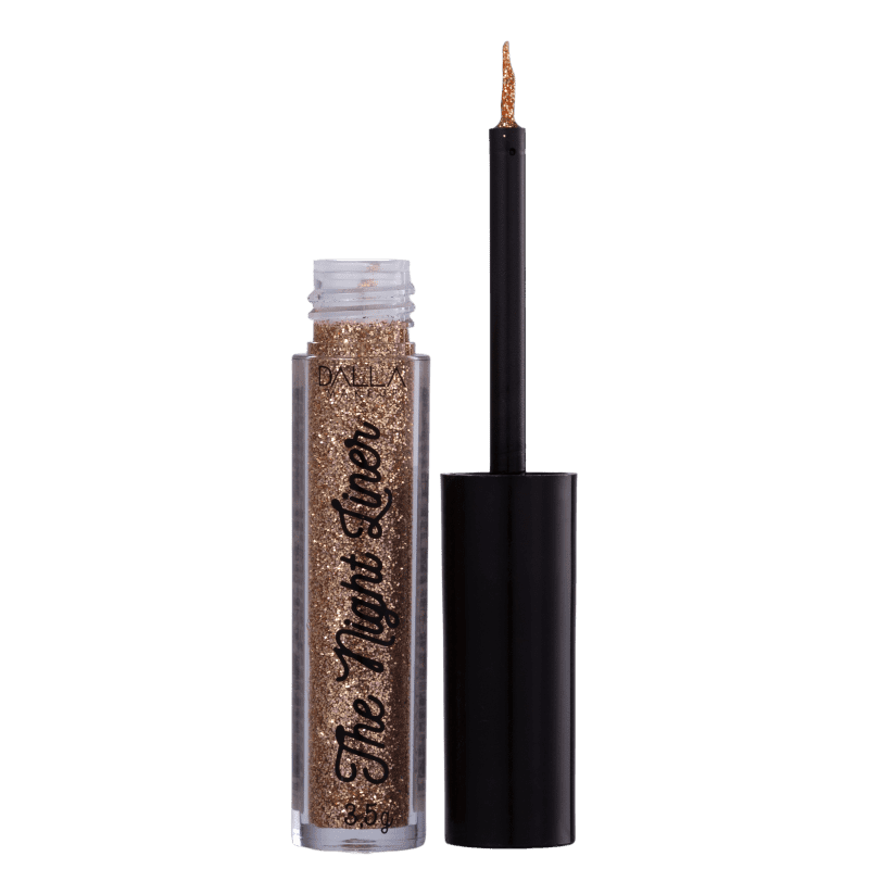 Dalla Makeup The Night Liner Glitter Power - Delineador Líquido 3,5g