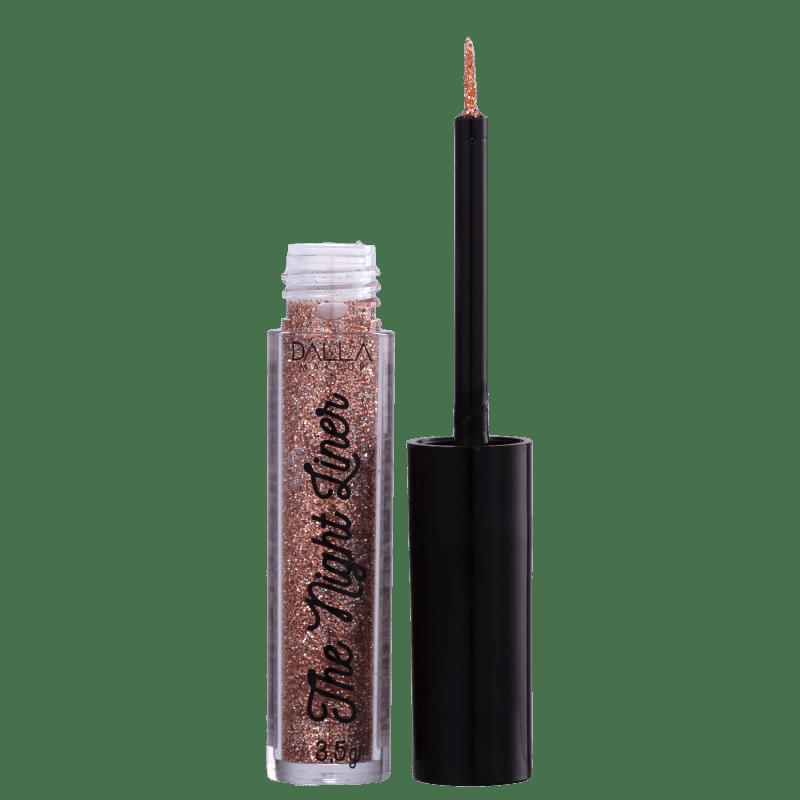 Dalla Makeup The Night Liner Glitter Fantasy - Delineador Líquido 3,5g