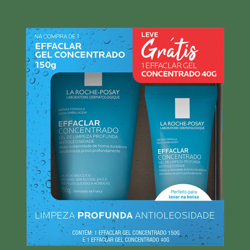 Kit La Roche-Posay Effaclar Gel Concentrado Duo (2 Produtos)