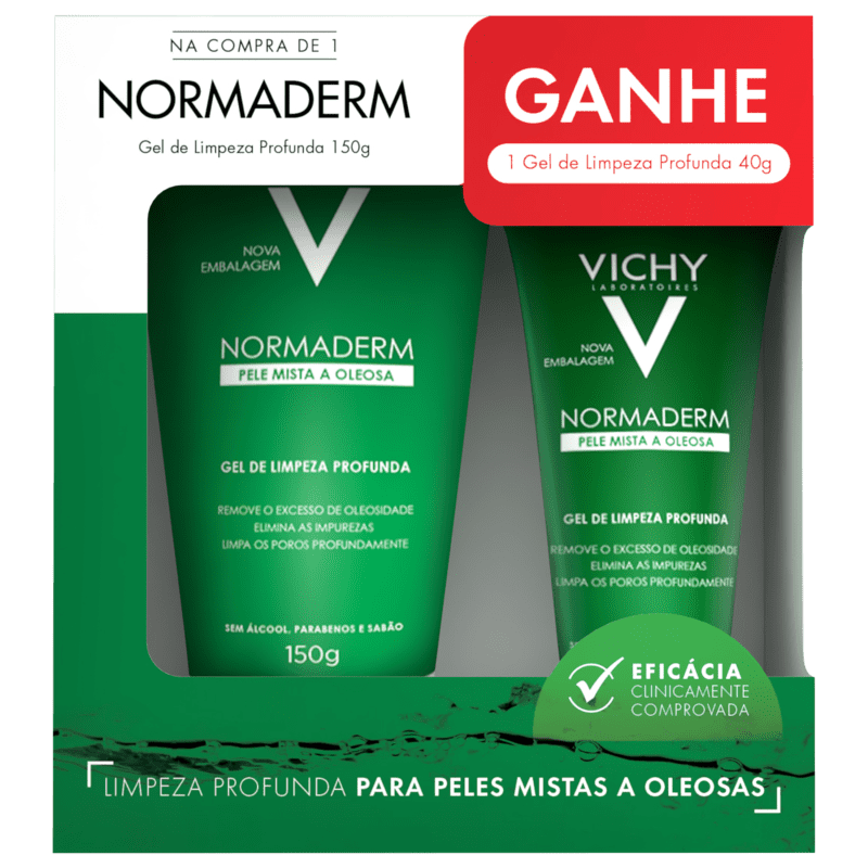 Kit Vichy Normaderm Limpeza Profunda (2 Produtos)