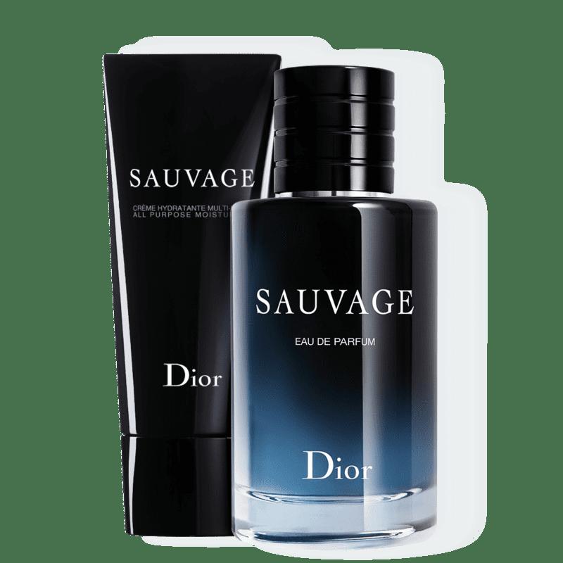Conjunto Dior Sauvage Masculino - Eau de Parfum 100ml + Creme Hidratante 150ml