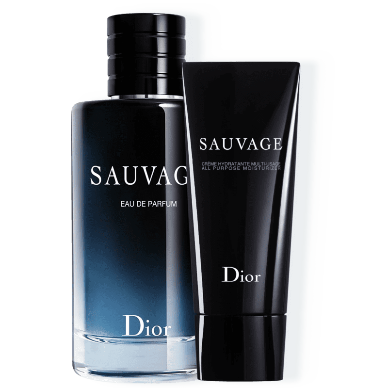 Kit Dior Sauvage Masculino Eau de Parfum 200ml + Creme Hidratante 150ml